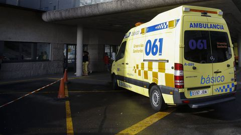 Los sanitarios del 061 que acudieron para auxiliar a la mujer que se atragantó en Conxo no pudieron evitar su muerte