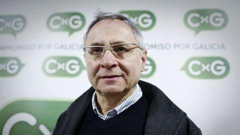 Celso Sánchez, portavoz de Compromiso por Maceda