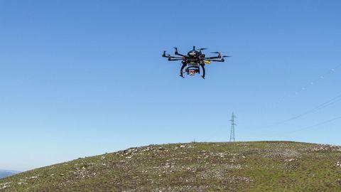 El uso de drones  facilita información detallada a los investigadores