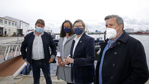 José Pérez, Susana Lenguas, Rosa Quintana y Manuel Ruiz