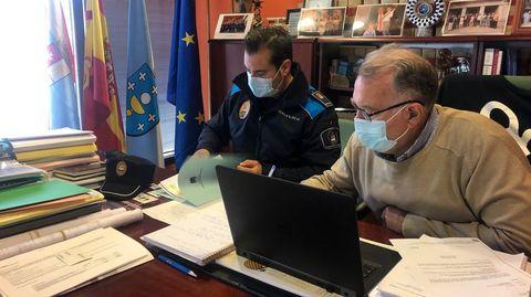 La reunión de la junta de seguridad de O Barco fue telemática
