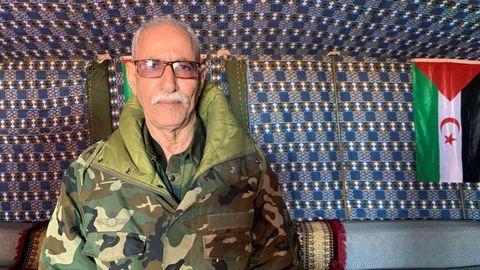 Brahim Ghali, consejero de la presidencia de la República Árabe Democrática Saharaui