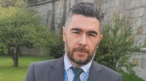Eduardo Dobarro, director de Navantia Fene-Ferrol desde principios de marzo