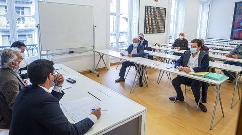 La comisión para la reconstrucción del puente se reunió en Ourense