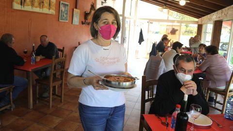 Patricia Pérez tiene el último restaurante en suelo asturiano que hay antes de entrar en Galicia