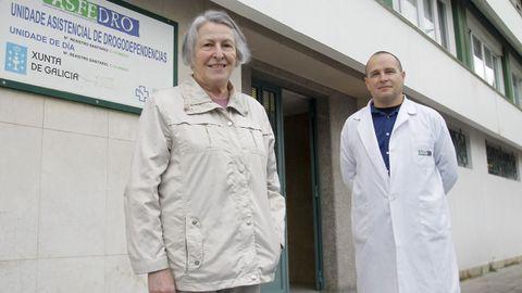 Sari Alabau y Gerardo Sabio, presidenta y director de Asfedro