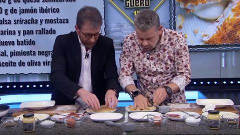 Pablo Motos y Alberto Chicote cocinan en directo en El Hormiguero