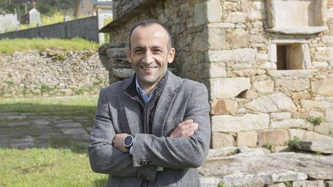 Francisco Barea, director del Instituto de Estudos do Territorio