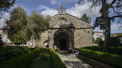 Un recorrido por la Barbanza medieval.Santa María A Nova de Noia quizá sea el edificio más conocido de los que aparecen recogidos en el proyecto y uno de los exponentes del pasado medieval noiés