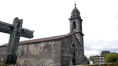 Un recorrido por la Barbanza medieval.El templo de Leiro, en el municipio de Rianxo, también es del medievo y se levantó entre los siglos XII y XIII