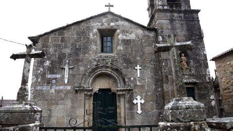 Un recorrido por la Barbanza medieval.Las múltiples reformas que sufrió apenas dejaron rasgos medievales en la iglesia parroquial de San Pedro de Tállara