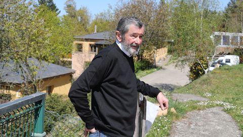 Xosé Fernández ha dedicado toda su vida a este complejo