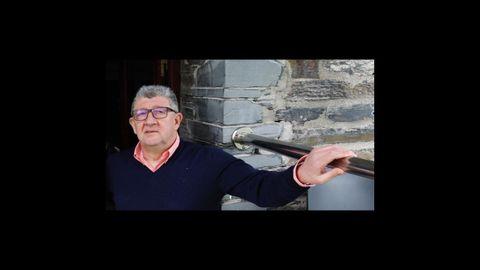 Suso Louzao, gerente del Restaurante Louzao en Area (Viveiro), el año pasado