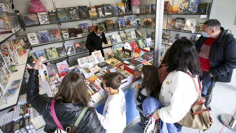 Feria del libro de Ferrol