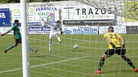 El Boiro generó muchas ocasiones de gol en la segunda parte