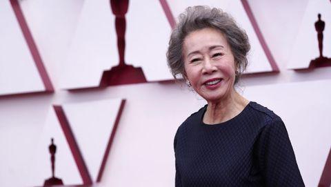 Youn Yuh-jung, primera actriz surcoreana nominada a un Óscar. Interpreta a la excéntrica abuela Soonja en la película «Minari»
