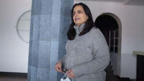 Ana Lucía Barcia recibió una ayuda de la Xunta para llevar adelante su proyecto emprendedor