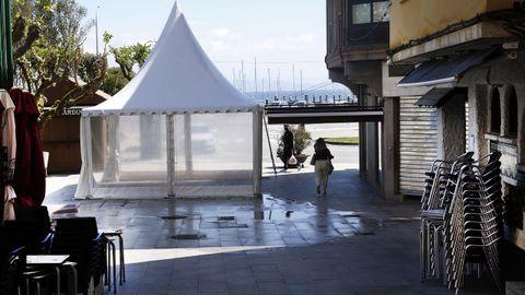 La hostelería en A Pobra lleva cerrada desde el 8 de abril y podría reabrir este fin de semana