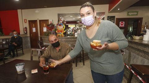 En Coristanco hoy es el último día de consumo en el interior de los locales hosteleros