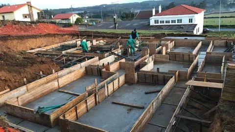Obra de Construcciones Prieto Mouriz en el municipio de Moeche