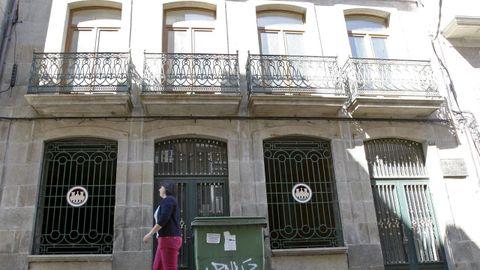 El edificio, en una imagen de archivo, está ubicado en el número 57 de la calle de Caldas de Reis