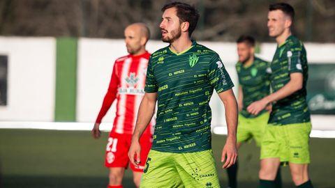 Josín Martínez, en un partido con el Guijuelo