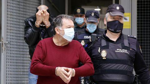 El narcoabogadoa de Vigo que fue detenido con un kilo de cocaína.