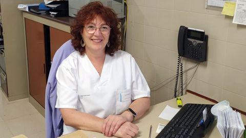 La fisioterapeuta Amparo García Alfaro, que trabaja en el Chuvi y ofrece una charla sobre cómo tratar el linfedema