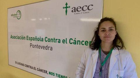 La psicóloga Alejandra Santos es la profesional que imparte el taller en Pontevedra