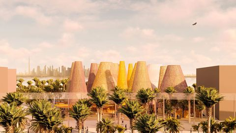 Una infografía de cómo quedará el proyecto. Arquitectos: Amman, Cánovas y Maruri / Estructuras: Mecanismo