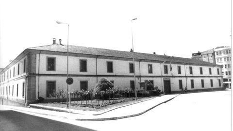 Imaxe antiga do cuartel de San Fernando