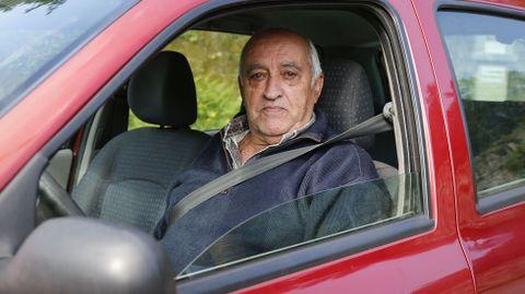 José Benito, vecino del concello pontevedrés de Arbo, buscaba dónde comprar sulfato por las cercanías