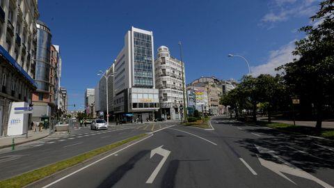 El cruce de la plaza de Mina se mantendrá por el momento igual, aunque será modificado cuando se ejecute la reforma definitiva para simplificarlo y facilitar la salida de la ciudad.