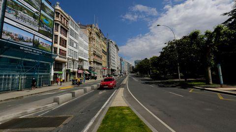 La transición de cuatro a dos carriles se hará  justo después del giro hacia Juana de Vega, con el fin de evitar atascos en ese punto clave para el tráfico de la ciudad.