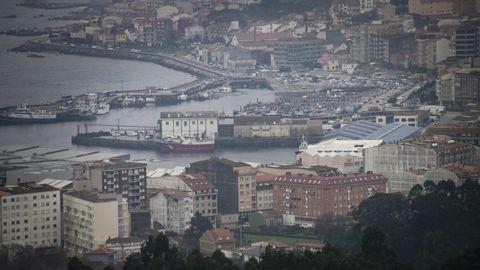 Vista de Ribeira, donde es casi imposible encontrar un piso para alquiler de larga duración