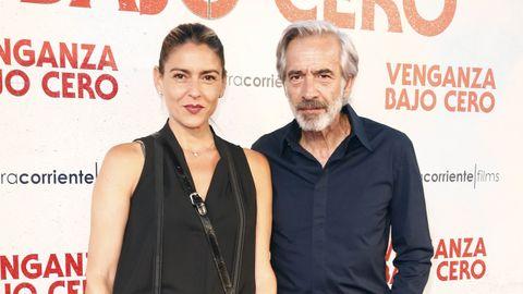 Irene Meritxell e Imanol Arias en julio del 2019