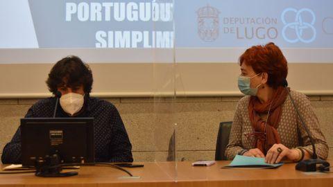 Presentación dos obradoiros de portugués