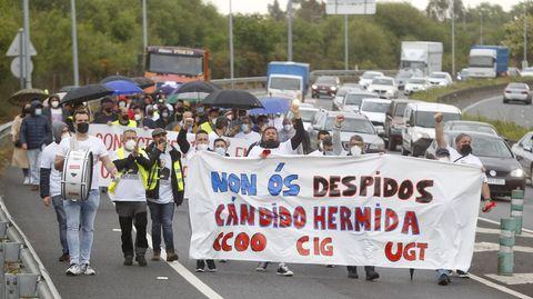 Cándido Hermida ha despedido a parte de su plantilla en abril