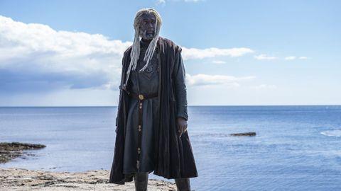 Steve Toussaint es el aventurero Lord Corlys Velaryon, «La Serpiente de Mar»