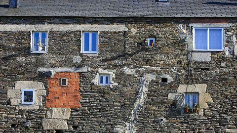 Las ayudas servirán para adecentar las fachadas