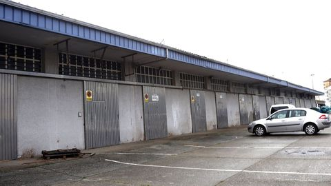 Foto de archivo de las instalaciones de la antigua lonja de Ribeira