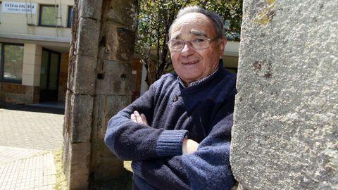 Faustino fue nombrado militante de honor del PSOE de Vilagarcía hace cinco años