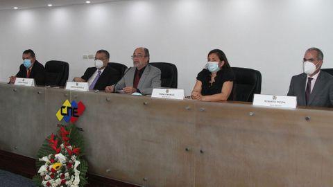 La nueva directiva del Consejo Nacional Electoral de Venezuela