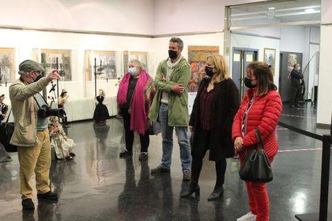 Exposición «Don Gaiferos polos camiños cara a Compostela», en el Gustavo Freire