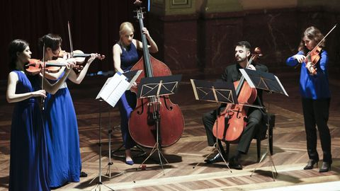 Praeteritum Ensemble actuará de novo no Círculo das Artes o día 27
