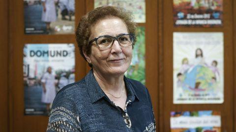 Josefa Ledo recibió la medalla tras 45 años de secretaria de la Delegación de Misiones