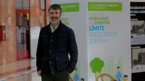 Juan Manuel Díaz Villoslada, concejal de Urbanismo del Ayuntamiento de A Coruña.