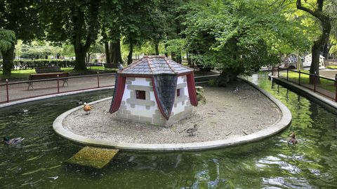 O parque tardou en construirse nove anos