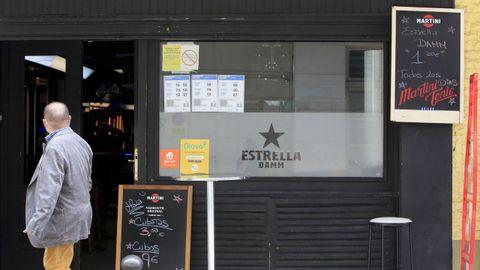 El bar donde la policía llevó a cabo la redada