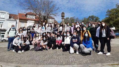 Alumnado y profesorado de Educación realizan un tramo del Camiño Mozárabe